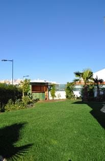 surfcamp Sagres garden