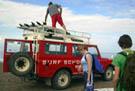 Surf taxi in Fuerteventura