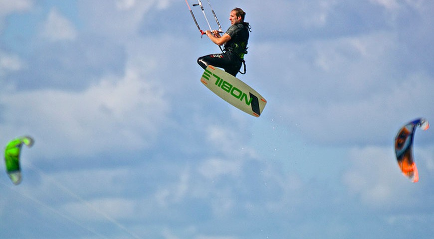 canary island kite boarding