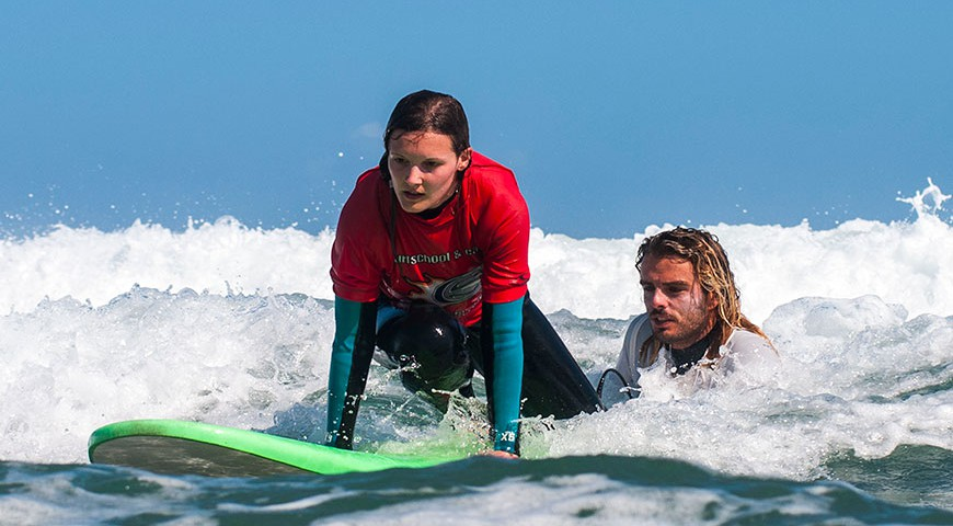 Famara surf school