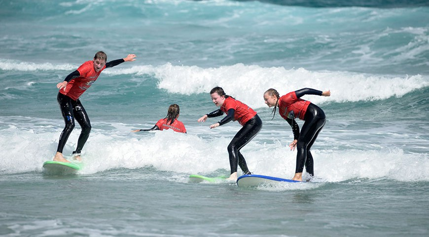 Surf holiday Lanzarote with lessons