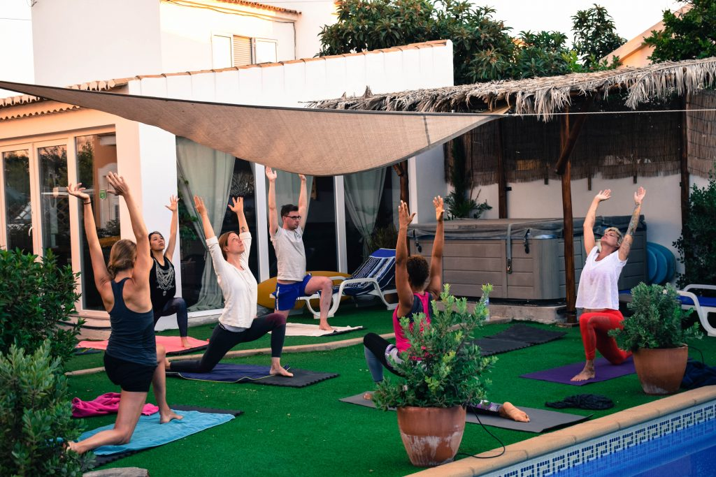 yoga and surf camp lagos
