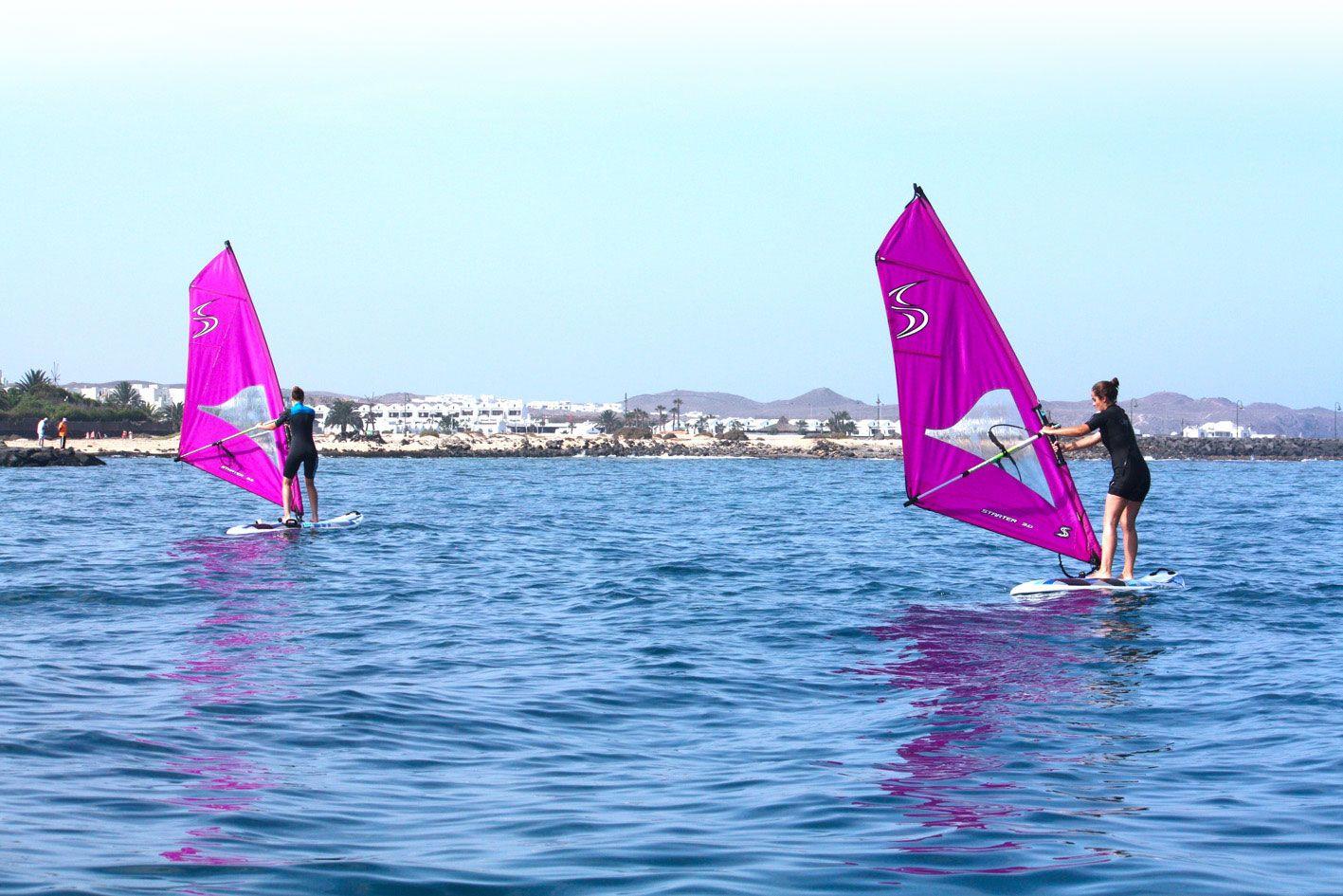 Lanzarote windsurfing