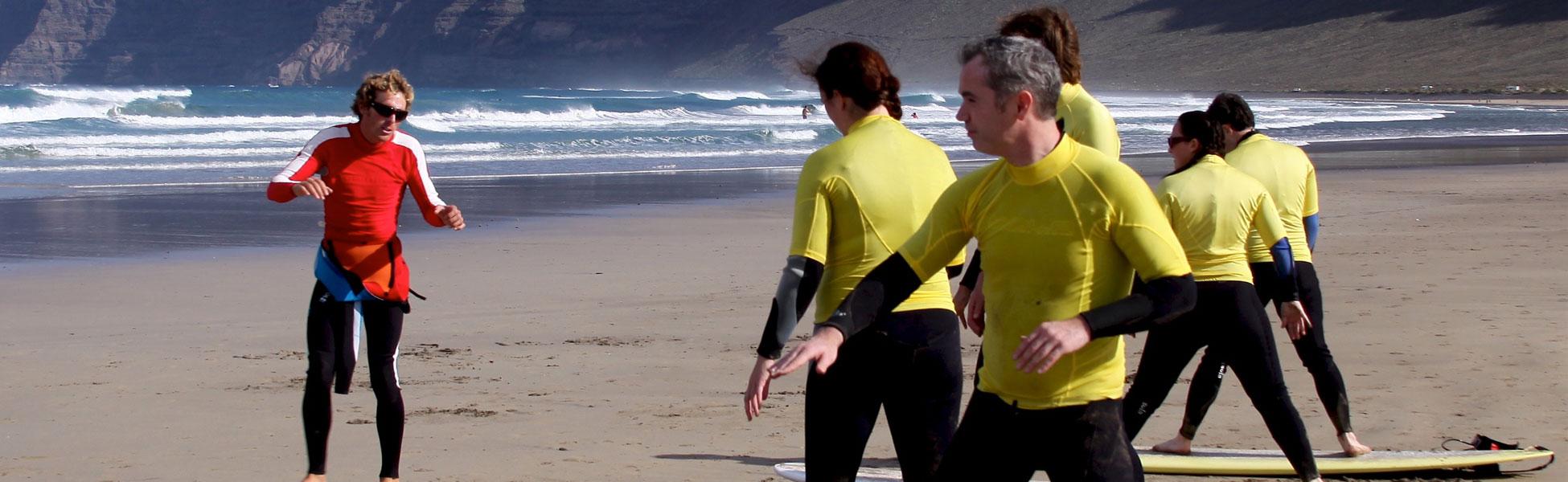 surf camp canarias