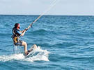 learn-2-kitesurf holidays in Guadeloupe, Caribbean Sea, West Indies
