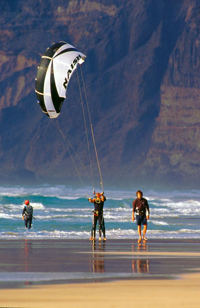 Surf trip and kitesurf camp Lanzarote