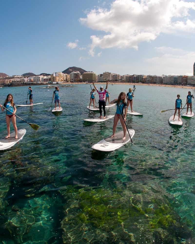 gran canaria sup surf excursions