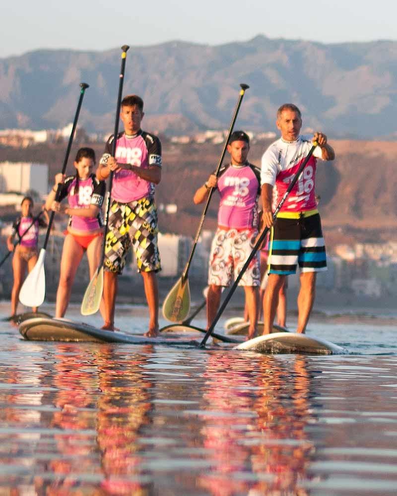 sup surfing gran canaria
