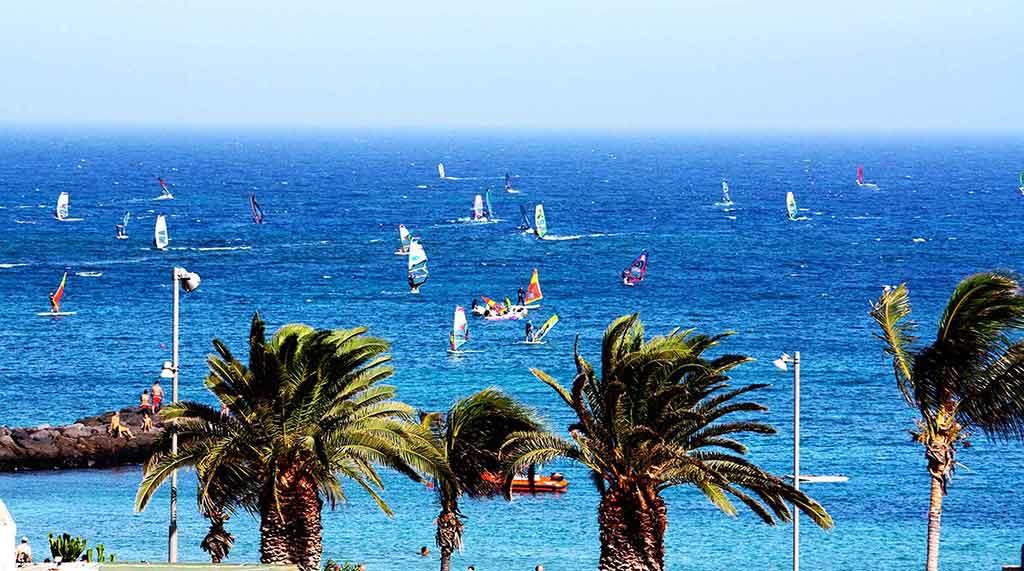 Las cucharas windsurfing trip